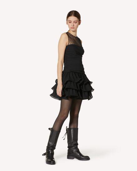 REDValentino 短款连衣裙 女士 UR3VAS60579 0NO d