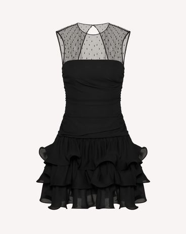 REDValentino UR3VAS60579 0NO 短款连衣裙 女士 a