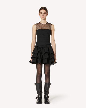 REDValentino UR3VAS60579 0NO 短款连衣裙 女士 f