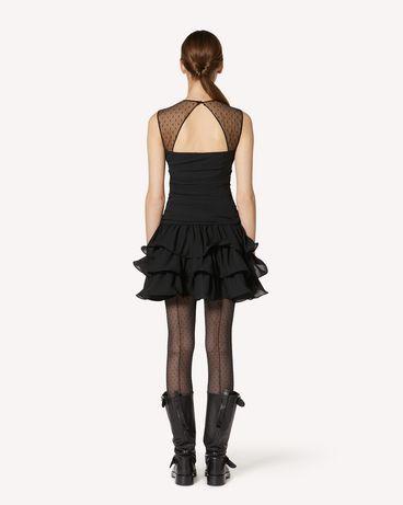 REDValentino UR3VAS60579 0NO 短款连衣裙 女士 r