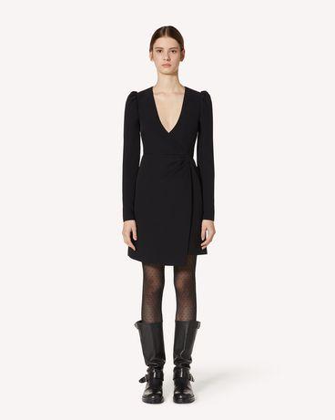 REDValentino UR3VAT10562 0NO 短款连衣裙 女士 f