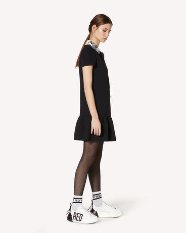 REDValentino UR3VAR4057W 0NO 短款连衣裙 女士 d