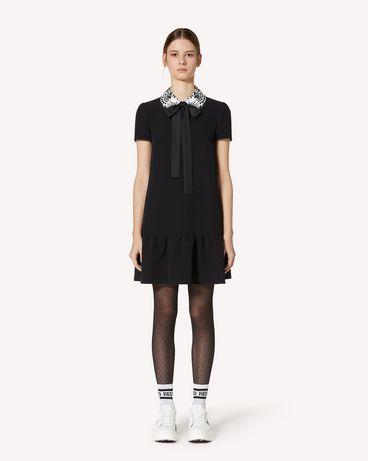 REDValentino UR3VAR4057W 0NO 短款连衣裙 女士 f