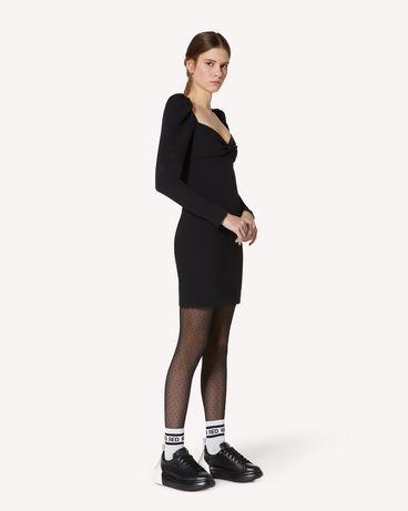 REDValentino UR3VAR60562 0NO 短款连衣裙 女士 d