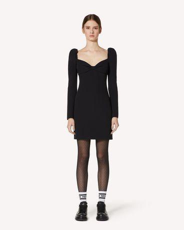 REDValentino UR3VAR60562 0NO 短款连衣裙 女士 f
