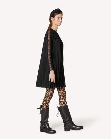 REDValentino UR3VAR5049G 0NO 短款连衣裙 女士 d
