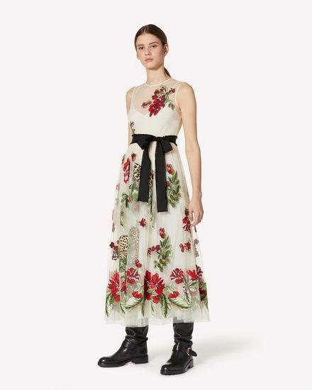 REDValentino 长款与中长款连衣裙 女士 UR3VA13P57U A03 d