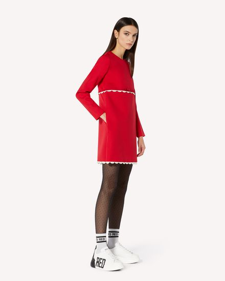 REDValentino 短款连衣裙 女士 UR3VA16E5B2 FJ6  d