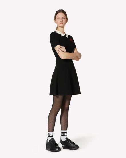 REDValentino 短款连衣裙 女士 UR3KD00T58N 0MG d