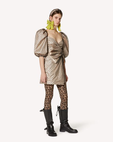 REDValentino 短款连衣裙 女士 UR3VAR85573 377 d