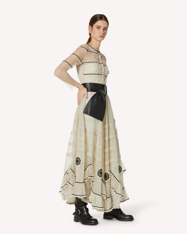 REDValentino UR3VA13S57N 0AN 长款与中长款连衣裙 女士 d