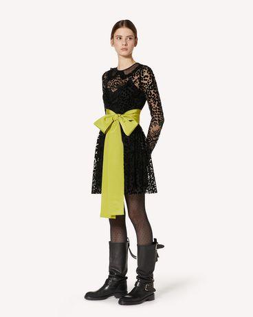 REDValentino UR3VA13F57V PP8 短款连衣裙 女士 d