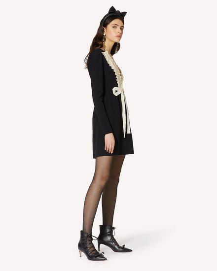 REDValentino 短款连衣裙 女士 UR0VA15W5L2 0NA d