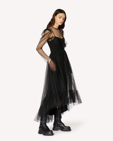 REDValentino UR0VA15L5K9 N01 长款与中长款连衣裙 女士 d
