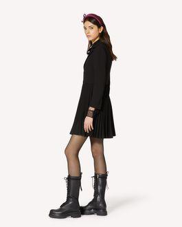 REDValentino 弹力卡迪西装夹克式连衣裙
