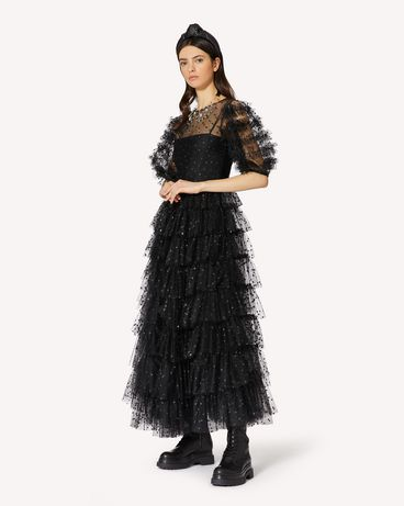 REDValentino UR0VAV005D8 0NO 长款与中长款连衣裙 女士 d