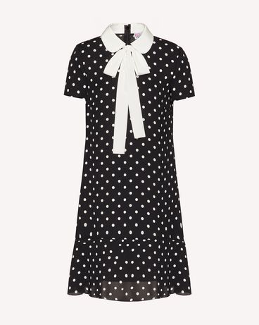 REDValentino UR0VAF055L7 0NO 短款连衣裙 女士 a
