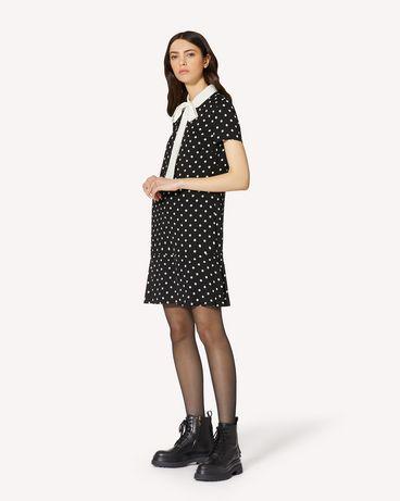 REDValentino UR0VAF055L7 0NO 短款连衣裙 女士 d