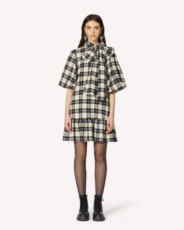 REDValentino UR0VAT605CW 0NO 短款连衣裙 女士 f