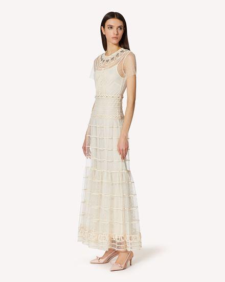 REDValentino 长款与中长款连衣裙 女士 VRCVA09A55N A03 d