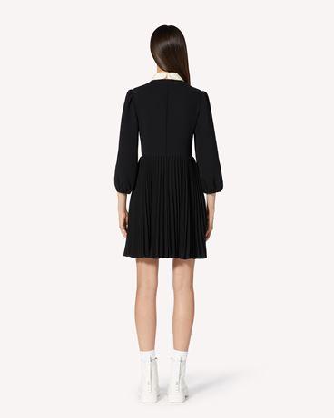 REDValentino 褶裥裙身柔美垂顺连衣裙