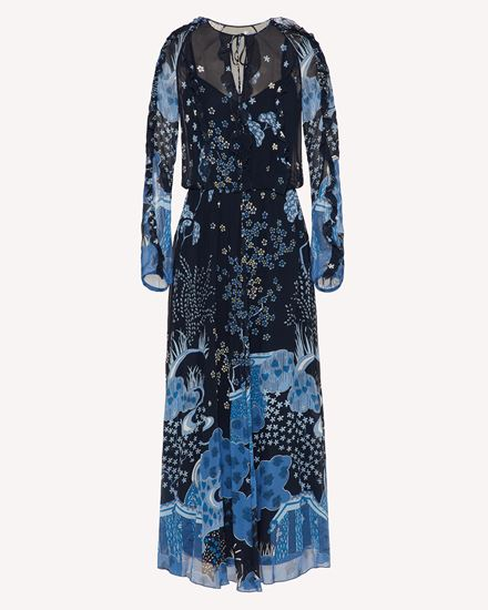 REDValentino 长款与中长款连衣裙 女士 VR3VAB205M1 B01 a