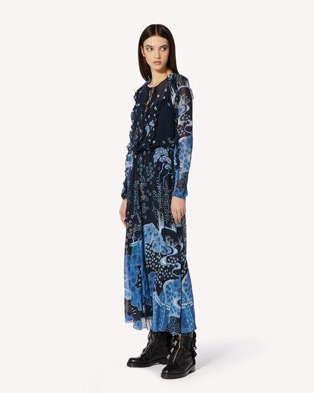REDValentino 长款与中长款连衣裙 女士 VR3VAB205M1 B01 d