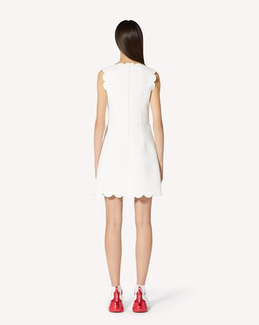 REDValentino 扇形细节 Fused tech 连衣裙