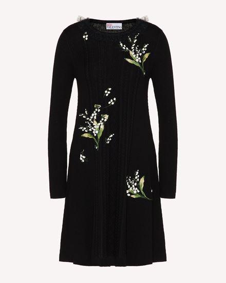 REDValentino 短款连衣裙 女士 VR3KD01W5N7 0NO a