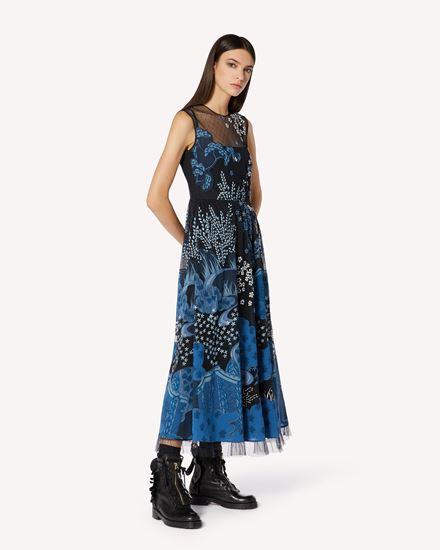REDValentino 长款与中长款连衣裙 女士 VR3VA17E5QM DV0 d