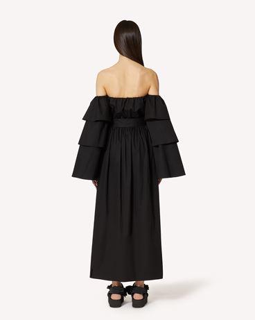 REDValentino The Black Tag 系列。  - 棉质府绸连衣裙