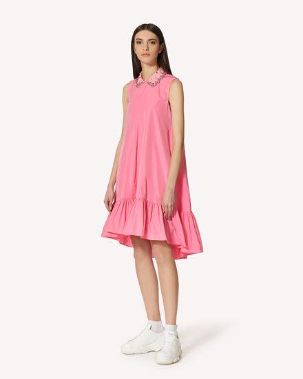 REDValentino 短款连衣裙 女士 VR0VAAV51FP 60G d