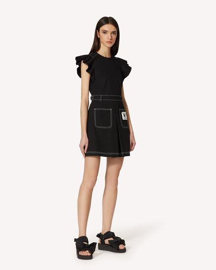 REDValentino 短款连衣裙 女士 VR0VAAH55S7 0NO d