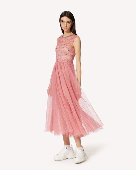 REDValentino 长款与中长款连衣裙 女士 VR0VA17U5T6 60G d