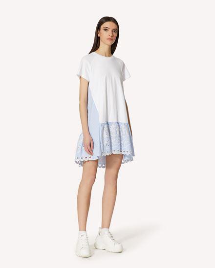 REDValentino 短款连衣裙 女士 VR0MJ06P5W9 0BO d