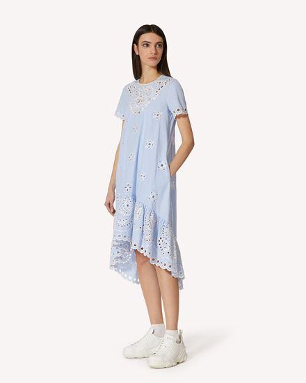 REDValentino 短款连衣裙 女士 VR0VA17X5T4 AA1 d
