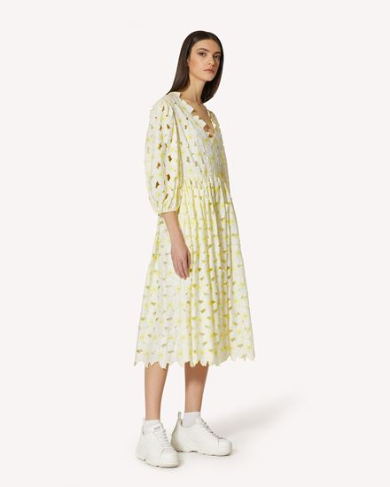 REDValentino 长款与中长款连衣裙 女士 VR0VA17P5TB D36 d