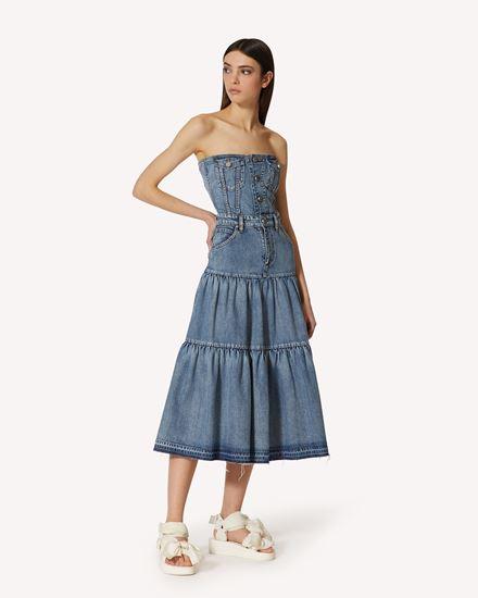 REDValentino 长款与中长款连衣裙 女士 VR0DA01B5TW 558 d