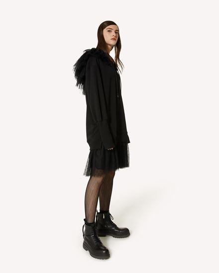REDValentino 短款连衣裙 女士 WR3MJ07S61J 0NO d