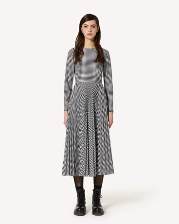 REDValentino 维希格棉质连衣裙