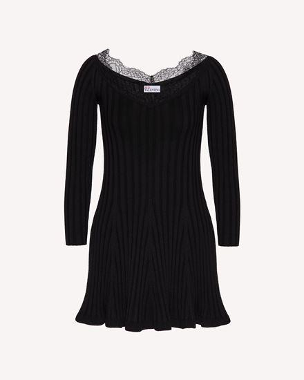 REDValentino 短款连衣裙 女士 WR3KD03I646 0NO a