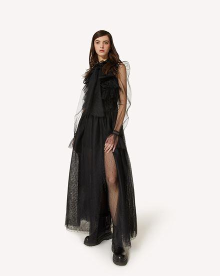 REDValentino 长款与中长款连衣裙 女士 WR3VABR05MM 0NO d