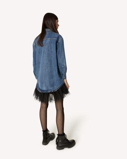 REDValentino 短款连衣裙 女士 WR3DA01H62V 558 d