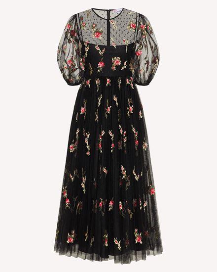 REDValentino 长款与中长款连衣裙 女士 WR3VA18P633 0NO a