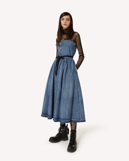 REDValentino 长款与中长款连衣裙 女士 WR3DA01G62V 558 d