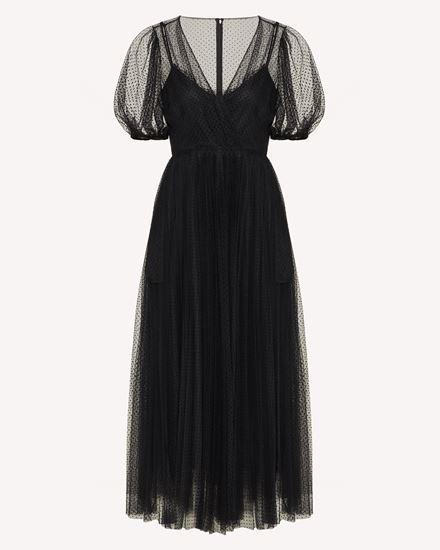 REDValentino 长款与中长款连衣裙 女士 WR3VA18L63D N01 a