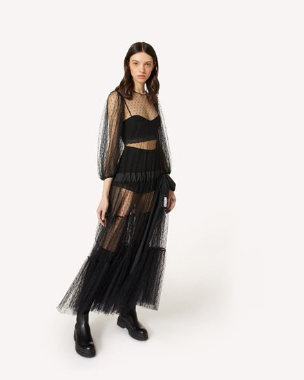 REDValentino 长款与中长款连衣裙 女士 WR0VABT562H 0NO d