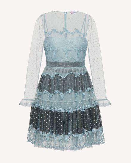 REDValentino 短款连衣裙 女士 WR0VA20D664 B43 a