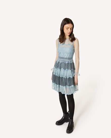 REDValentino 短款连衣裙 女士 WR0VA20D664 B43 d