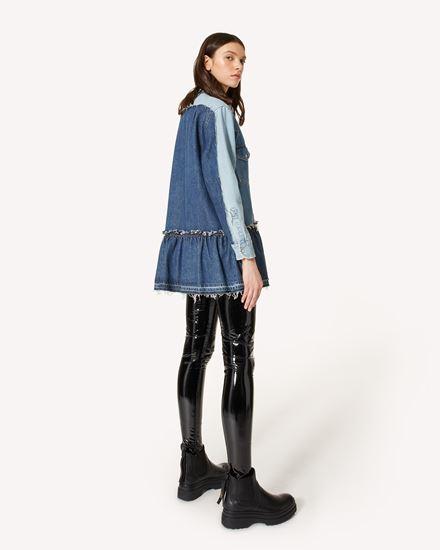 REDValentino 短款连衣裙 女士 WR0DA01I67G DM1 d